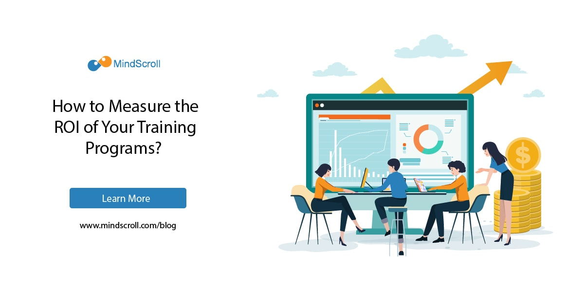How to Measure ROI of Employee Training Programs? - MindScroll Blog Card Image